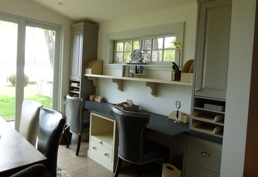 Home office custom woodworking design style Kelowna