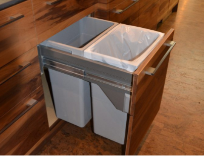 handcrafted wood kitchen storage